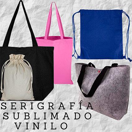 Bolsas ALGODÓN, FIELTRO y YUTE
